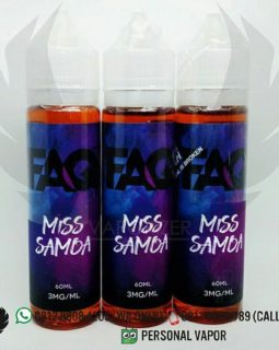 FAQ Miss Samoa Liquid