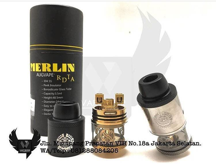 Merlin RDTA (Authentic) Silver