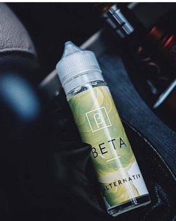 Beta Alternatif Green Apple Peach Menthol Liquid