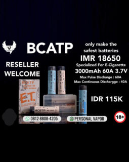 Battery BCATP 18650 3000mAh 60A