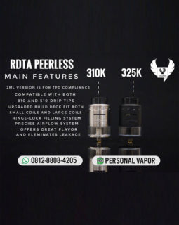GeekVape Peerless RDTA 24mm (Authentic)