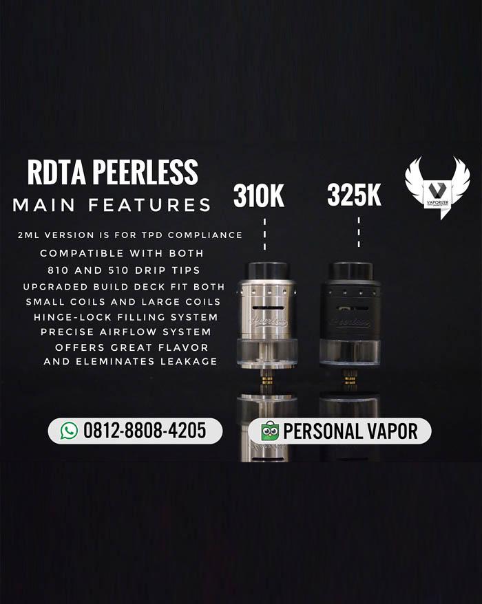 GeekVape Peerless RDTA 24mm (Authentic)