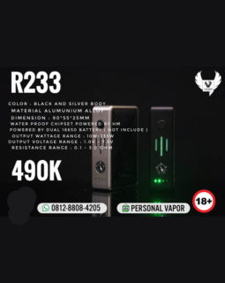 Hotcig R233 Adjustable Voltage Box Mod