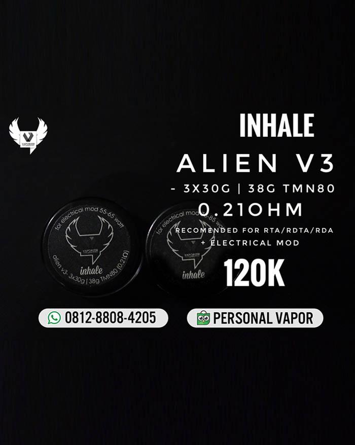 Prebuild Coil Inhale Alien V3