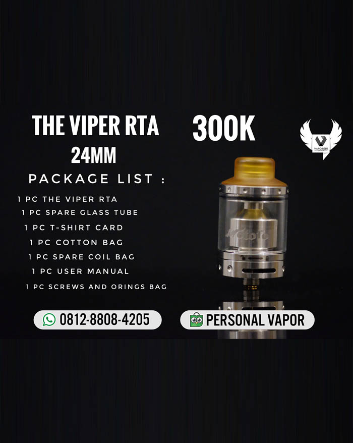 Wotofo The Viper RTA 24mm (Authentic)