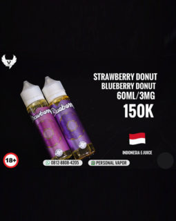 Strawberry & Blueberry Donut Liquid