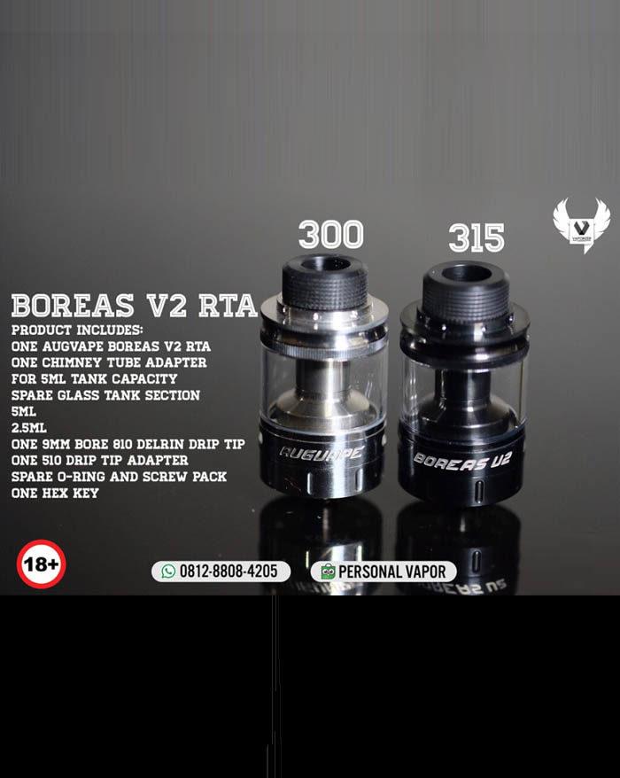 Augvape Boreas V2 RTA 24mm Silver (Authentic)