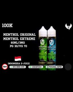 Menthol Original Liquid