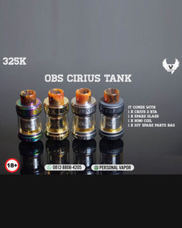 OBS Crius 2 RTA 25mm (Authentic)
