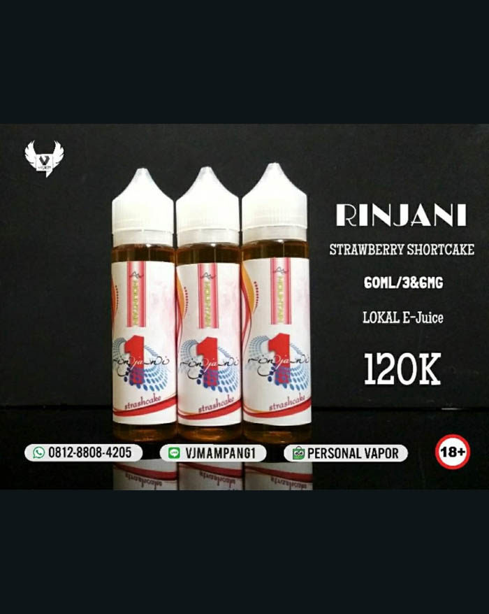 Rinjani Mountain Liquid