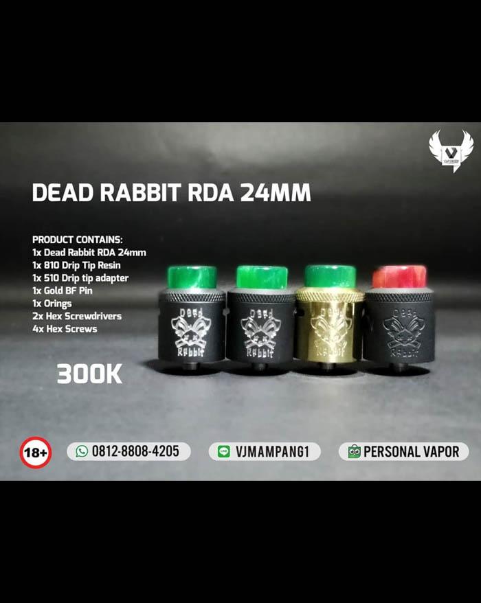 HellVape Dead Rabbit RDA 24mm (Authentic)