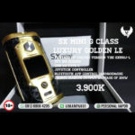 YiHi SXmini G Class Luxury Golden 200W TC Mod