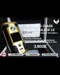 YiHi SXmini G Class Luxury Golden 200W TC Mod