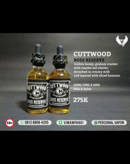 Cuttwood Boss Reserve Liquid