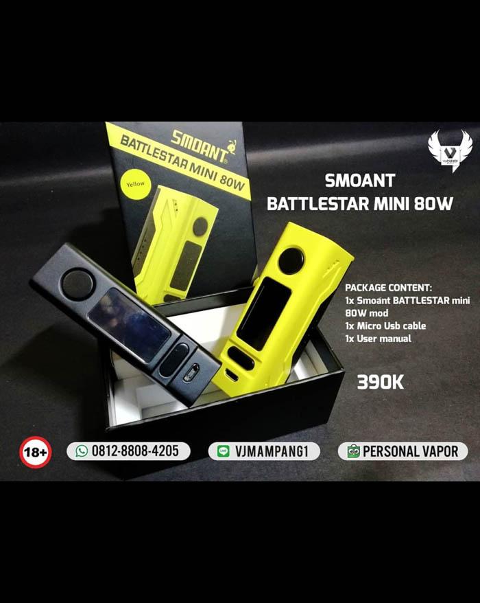 Smoant Battlestar Mini 80w TC Mod