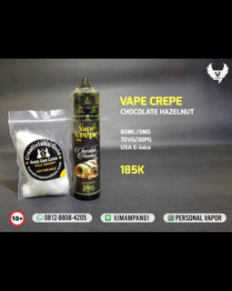 Vape Crepe Chocolate Hazelnut Liquid