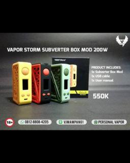 Vapor Storm Subverter 200w TC Mod