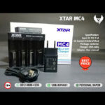XTAR MC4 Li-ion Intelligent Battery Charger
