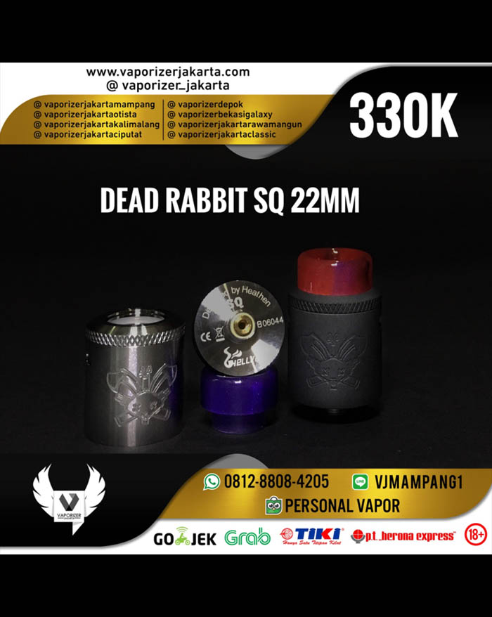 HellVape Dead Rabbit SQ RDA 22mm (Authentic)