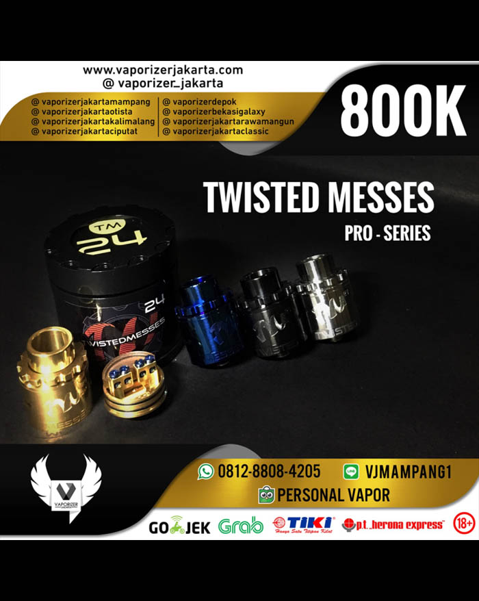 Twisted Messes TM24 Pro Series RDA 24mm (Authentic)