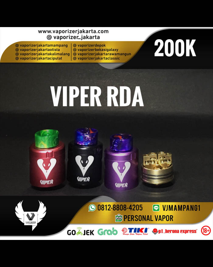 Vapjoy Viper RDA 24mm (Authentic)