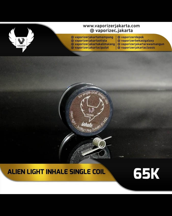 Prebuild Coil Inhale Alien Light