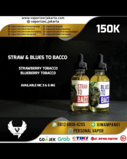 Straw To Bacco Liquid