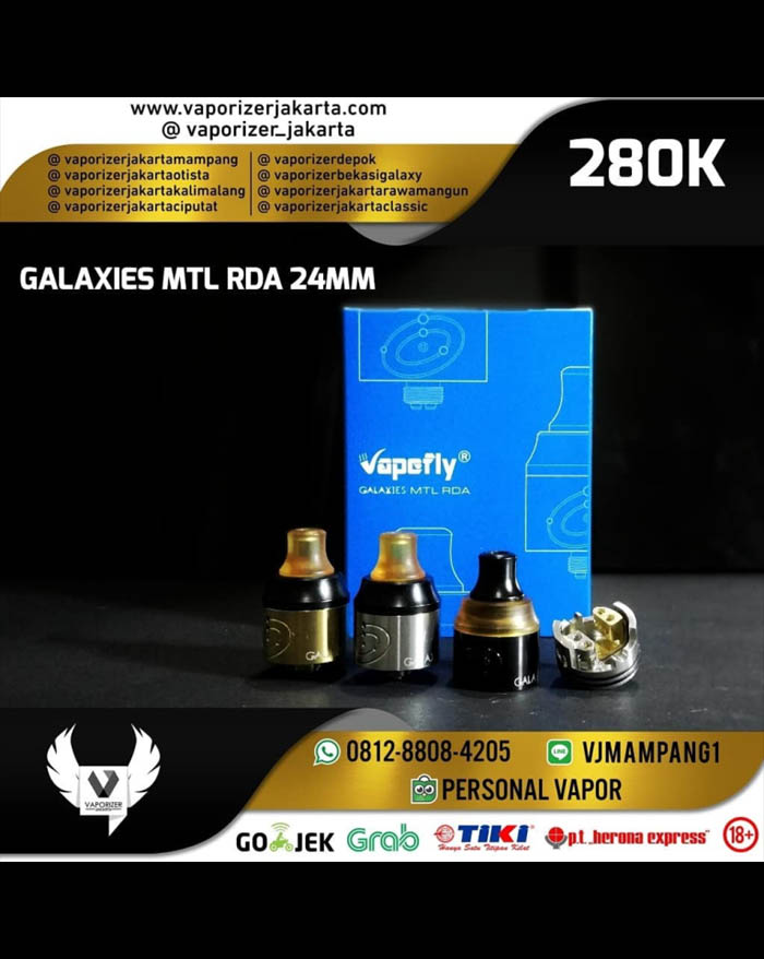Vapefly Galaxies MTL RDA 22mm (Authentic)