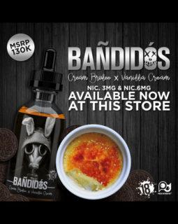 Bandidos Cream Brulee+Vanilla Cream Liquid