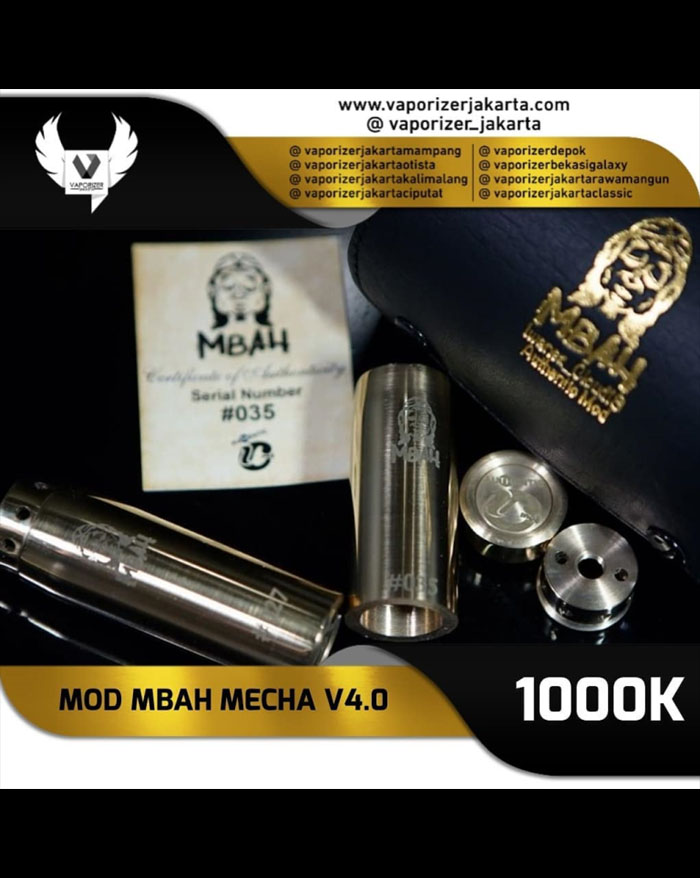 Mbah Competition Mechanical Mod V4.0