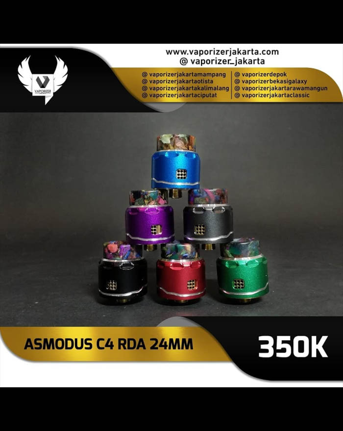 Asmodus C4 RDA 24mm (Authentic)