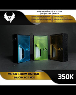 Vapor Storm Raptor Squonk Mod