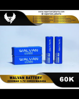 Battery Walvan 18650 2200mAh 40A