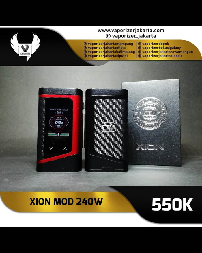 Council of Vapor Xion 240w Touch Screen TC Mod