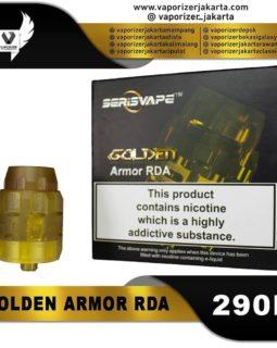 GOLDEN ARMOR RDA 26MM (Authentic)