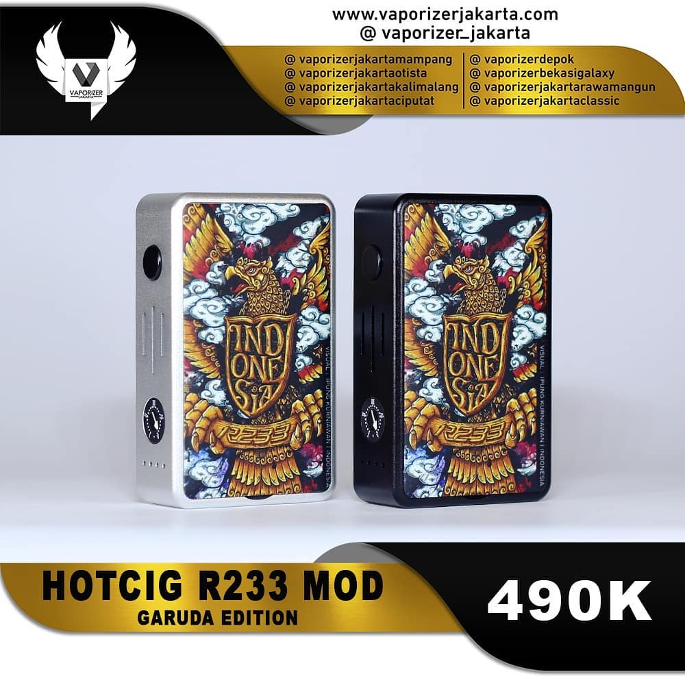 HOTCIG R233 Garuda Edition (Authentic)