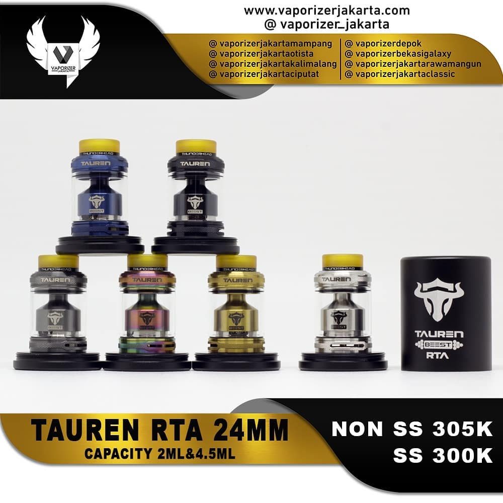 TAUREN RTA 24MM BY THUNDER HEAD CREATIONS (Authentic)