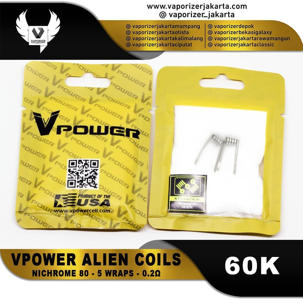 VPOWER ALIEN COILS