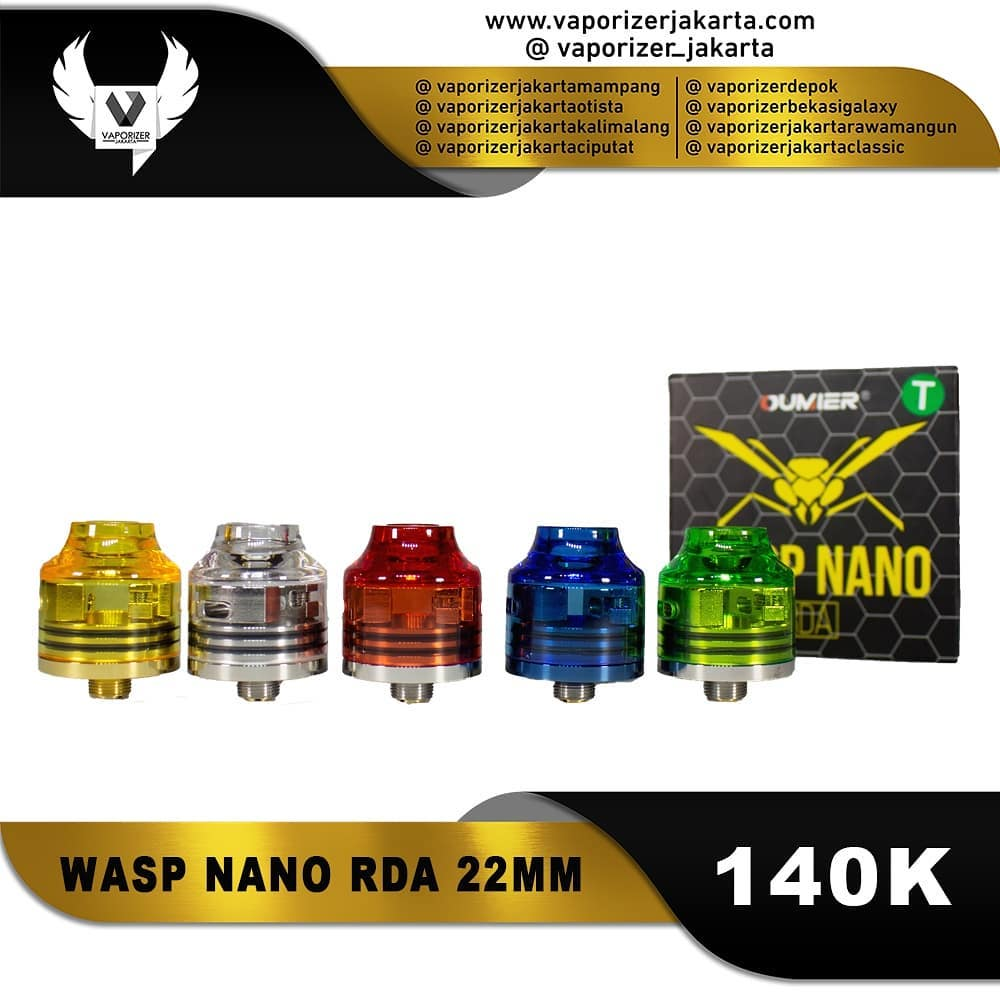 WASP NANO 22MM RDA CLEAR CAP EDITION (Authentic)