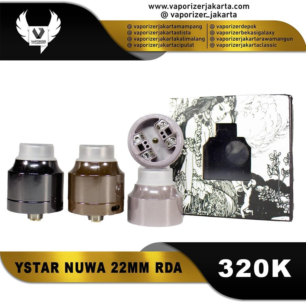 YSTAR NUWA 22MM RDA (Authentic)