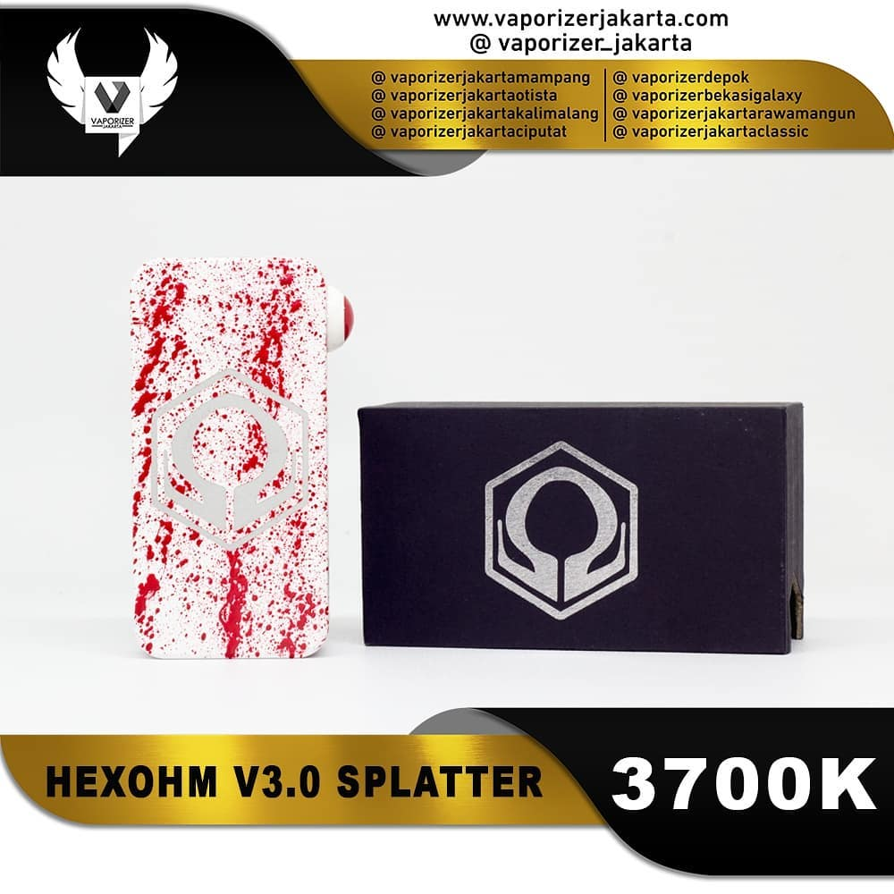 HEXOHM V3.0 SPLATTER EDITION
