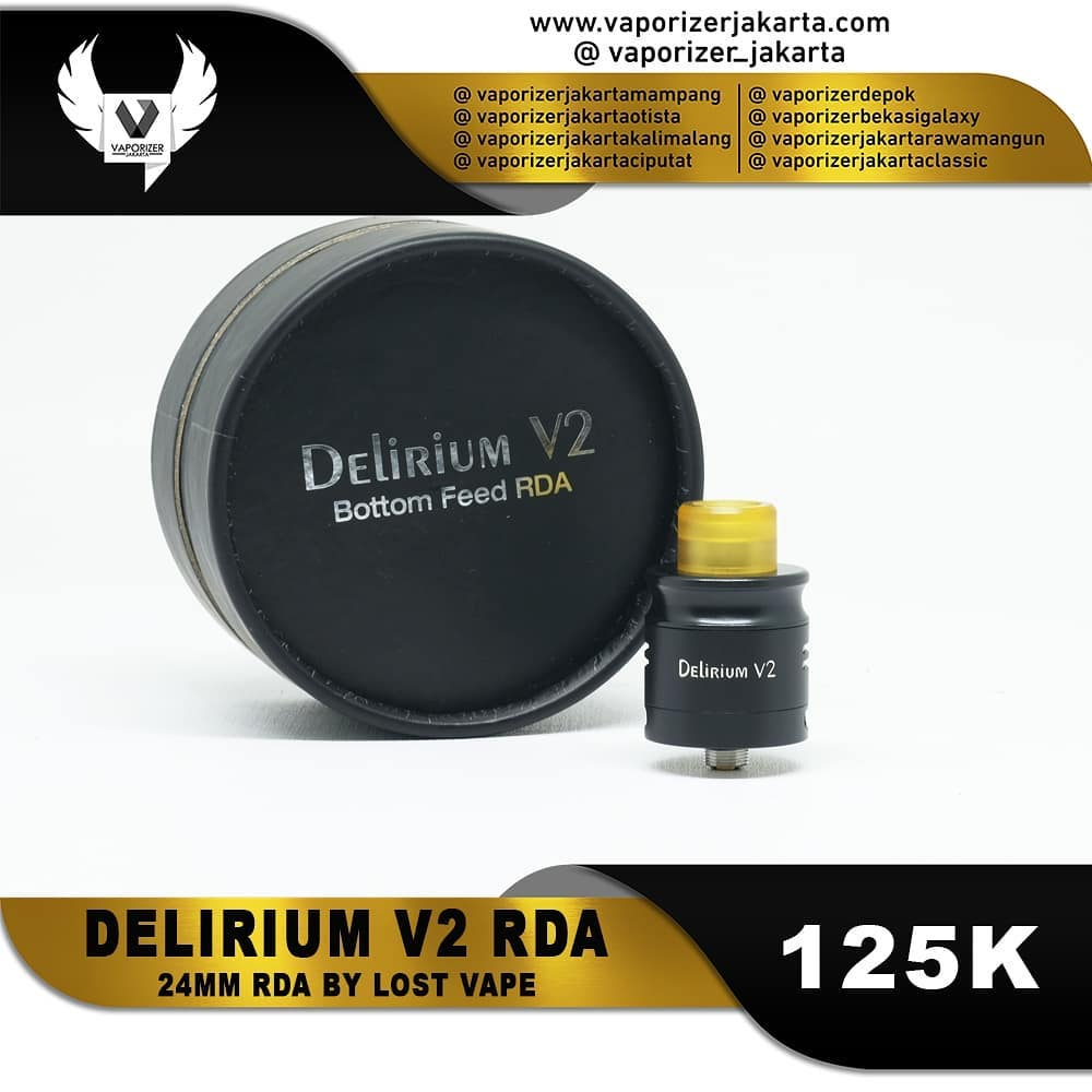 DELIRIUM V2 RDA (Authentic)