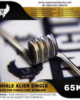 INHALE ALIEN SINGLE
