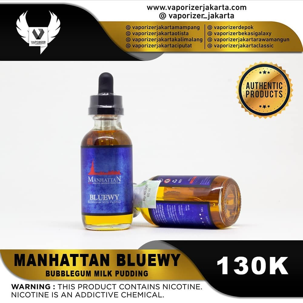 MANHATTAN BLUEWY
