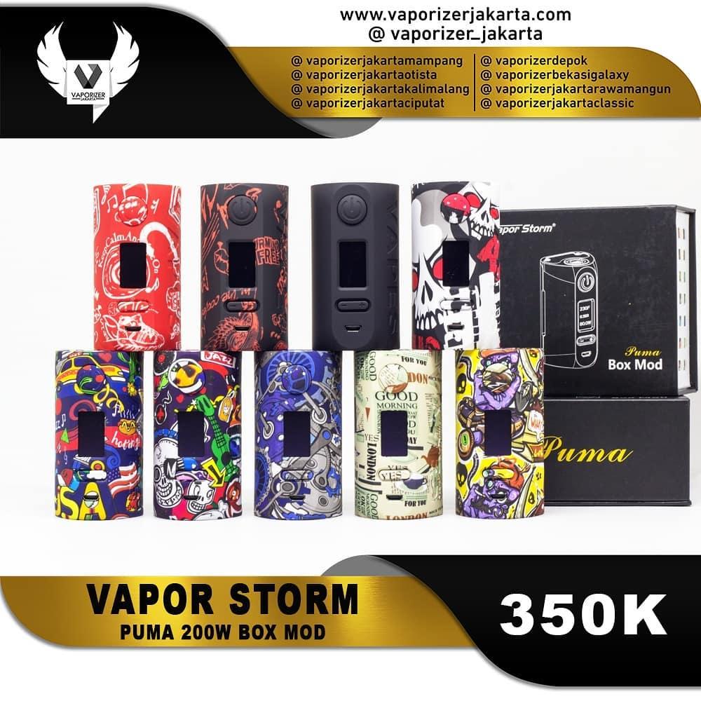 VAPOR STORM PUMA 200W BOX MOD (Authentic)