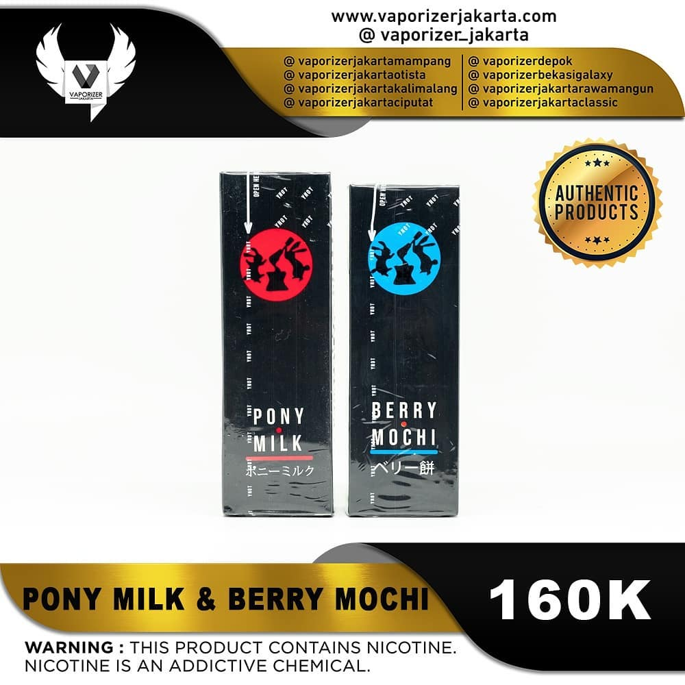 PONY MILK & BERRY MOCHI