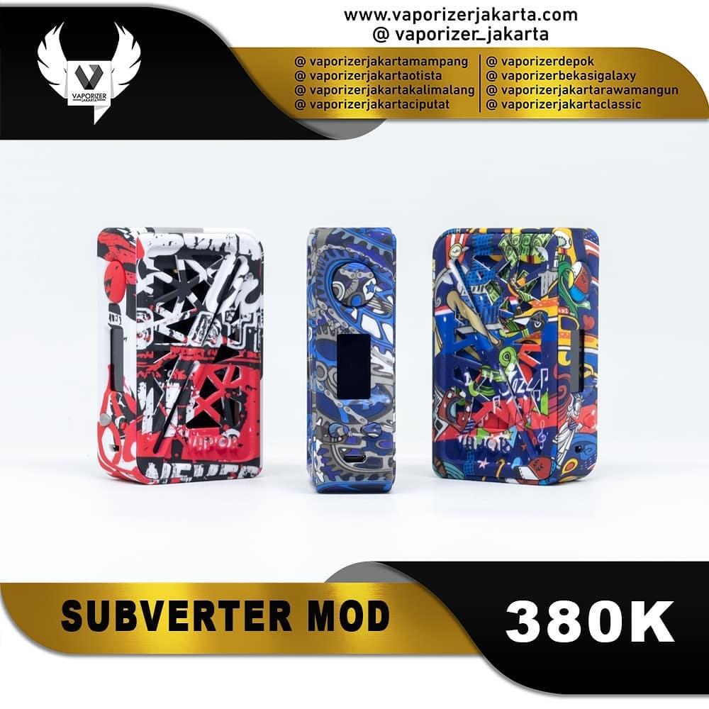 VAPOR STORM SUBVERTER BOX MOD (Authentic)