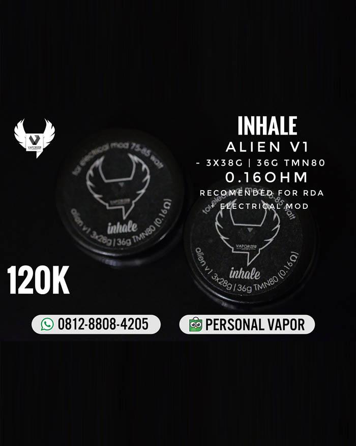 Prebuild Coil Inhale Alien V1