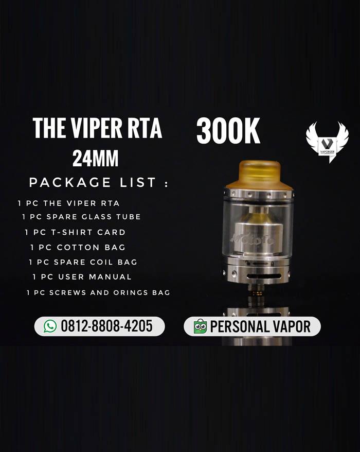 Wotofo The Viper RTA 24mm (Authentic)