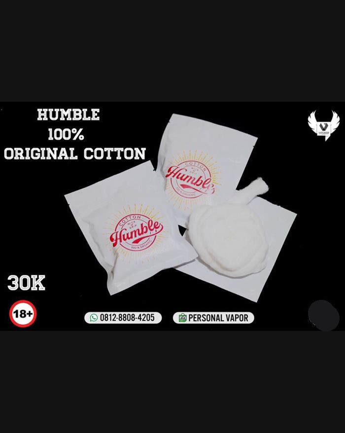 Cotton Wick n Drip Humble